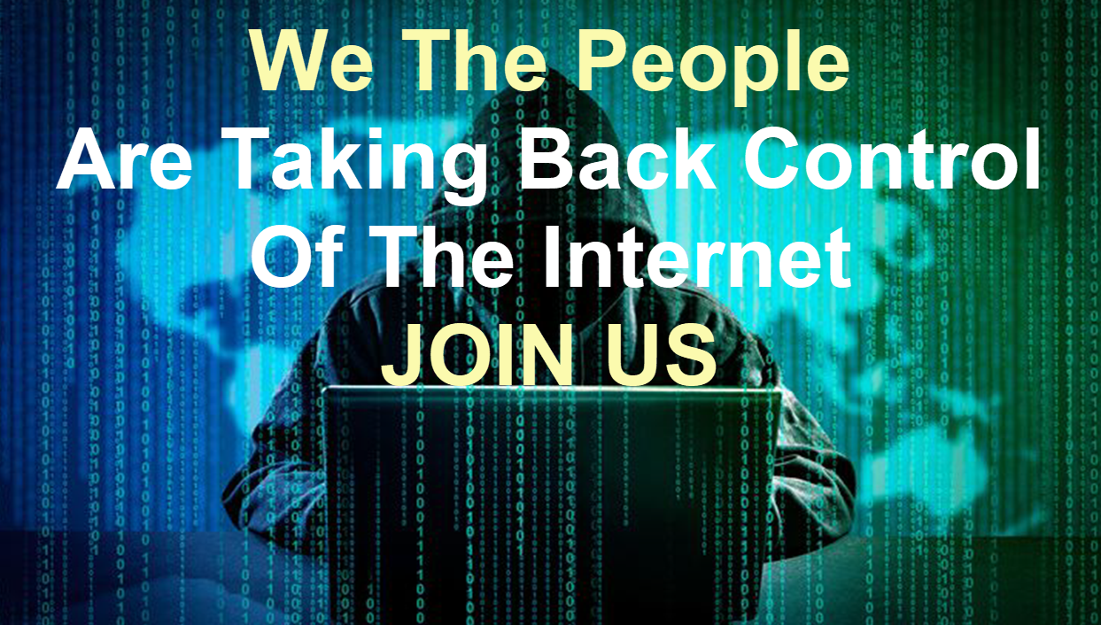 Take back control of the internet